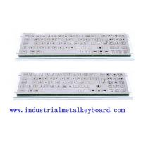 Buy cheap SS Industrial Keyboard With Trackball For Security Equipment , Gaming Machine from wholesalers