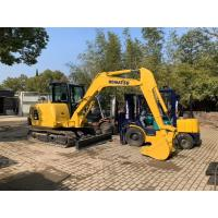Wholesale JAPAN KOMATSU PC56-7 Excavator / Used Komatsu Mini Excavator 1.2m3 Bucket from china suppliers