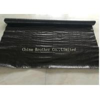 China Woven Water Permeable Landscape Fabric , Weed Control Barrier Cloth 70gsm on sale