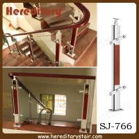 Wholesale Aluminum Stair Railings with Tempered Glass (SJ-766) from china suppliers