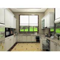 Wholesale Moisture Proof Board Pvc Kitchen Cabinets With Visible Handle 8 Years Guarantee from china suppliers
