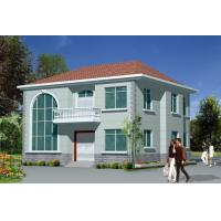 Wholesale Light  Steel Frame House / Prefabricated Houses For modern Villa from china suppliers