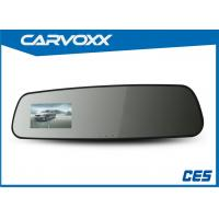 Wholesale 2.7 Inch Car GPS Rearview Mirror DVR with HD Output / G-Sensor from china suppliers