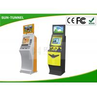 Wholesale Self Service Ticket Vending Machine Kiosk , Retail Mall Queue Kiosk Anti - dust from china suppliers
