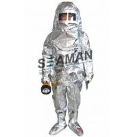 Wholesale Marine Fire Fighting Equipment / Aluminum Foil Composite Fabric Heat Insulation Fireman Protective Suit from china suppliers