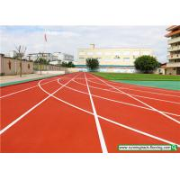 Wholesale SSGsportsurface Full PU Mixed Recycled Rubber Running Track Playground Flooring from china suppliers