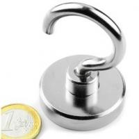 Wholesale Large quantity sliver coating magnetic hook wholesale from china suppliers