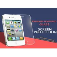 Wholesale Tempered Privacy Anti Spy iPhone 4 4S Screen Protector Nanotechnology White from china suppliers