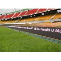 Wholesale IP65 football stadium led display,outdoor large media led billboard,P10 stadium led from china suppliers