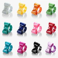 Wholesale 2013 Summer Hot Beautiful Acrylic Bowknot Ring from china suppliers