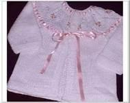 Wholesale High quality 100% cotton chunky baby hand knitted cardigans for Baby Girls from china suppliers