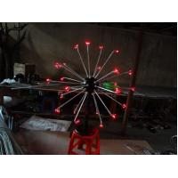Wholesale 25 stems Multi LED Christmas decorative fireworks floor lights for holiday/wedding decor from china suppliers