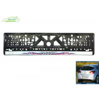 Wholesale personalized custom european license plate holder frames 52*12.5cm from china suppliers