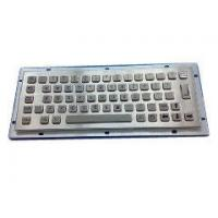 Buy cheap Long-Stroke Printed Keytop Stainless Steel Metal Keyboad 263.0*91.0mm  IP65 from wholesalers