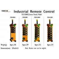 Wholesale Single / Double Speed Wireless Hoist Remote Control Wireless Industrial Remote Controller F24+ Series from china suppliers