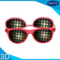 Wholesale PH0028 Flip Up  Diffraction  Glasses With CE FCC RoHS Strong Effect Glasses from china suppliers
