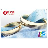 Wholesale Wedding souvenir Magstripe Cards / Magnetic Gift Cards with Barcode from china suppliers