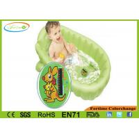 PVC Water Baby Bath Thermometer Card Waterproof High Accuracy