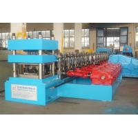 Buy cheap 2 - 4mm Guardrail Roll Forming Machine with 15 Forming Stations from wholesalers
