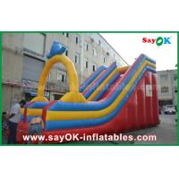 Wholesale Customized 0.55 PVC Tarpaulin Inflatable Bouncer Slide For Water Fun / Water Park from china suppliers