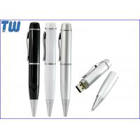 Wholesale Fashion Hand Writing Pen USB Thumbdrive Twister Drive Refill Pen from china suppliers