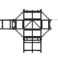 Wholesale Hot Dip Galvanised Steel Structure For Sea Fish Salmon Farming Cage Steel Framed Structure from china suppliers