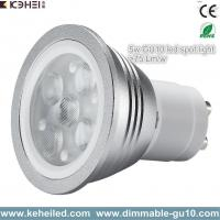 Wholesale 5W high power gu10 led spot light with Lextar 3030 chips 70lm/w chip from china suppliers