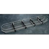 Quality Emergency Stainless Steel First Aid Patient Basket Medical Stretchers for sale