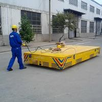 Wholesale Trackless handling bogie running on the cement  floor used in warehouse from china suppliers