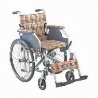 Wholesale Wheelchair with Aluminum Frame and Drop Back Handle from china suppliers