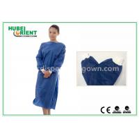 Wholesale Disposable Surgical Isolation Gown / Custom Hospital Gowns With PP SMS Material from china suppliers