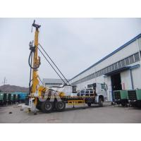 Quality 350m Drilling Depth Borehole Well Water Drilling Equipment , Truck Mounted Well Digging Machine for sale