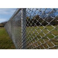 """Wholesale Chain link fence. 6' height 9 gauge 2"""" diamond. 1.2oz zinc requirement 50 foot roll from china suppliers"""