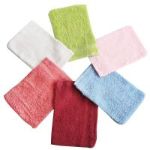 Wholesale 6pcs/lot Bath Glove Luva 100% Cotton Spa Scrubbing Bath Towel Sponge Shower Gloves Intrafa from china suppliers