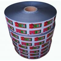 Quality Small Sachet Ketchup Packaging Roll Film for Restaurants , Packaging Roll Film for sale