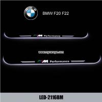 Wholesale BMW F20 F22 custom car door welcome LED Lights wholesale auto sill pedal from china suppliers