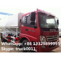 Wholesale Foton brand LHD 4*2 livestock and poultry feed truck for sale, factory direct sale FOTON farm-oriented feed delivy truck from china suppliers
