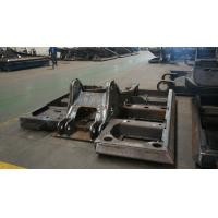 Wholesale Alloy Steel Q235 Excavator Spare Parts Chassis , Big Steel Welding Structural Fabrication from china suppliers