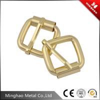 Professional manufacturing zinc alloy bag twist lock,43.8*24.18mm rectangular handbag twist lock