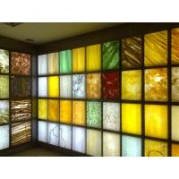 Wholesale translucent resin stone panels for decoration from china suppliers