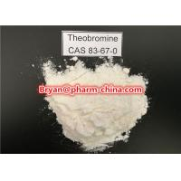 Wholesale Steroids Powders Pharmaceutical Raw Materials Weight Loss Supplement Theobromine CAS 83-67-0 from china suppliers