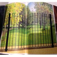 Wholesale wrought iron fence panels from china suppliers