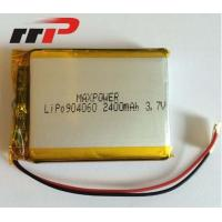 Wholesale 3.7V 904060 2400mAh 3.7 V Li-Poly Rechargeable Battery Pack Seiko PCM IEC62133 from china suppliers