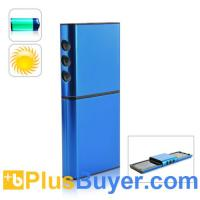 Wholesale Solar Charger and Battery for Cell Phones and USB Device (Dual Charging Panels) from china suppliers