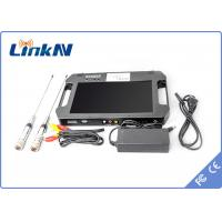 Wholesale Digital Portable Video Receiver / COFDM Receiver With 10.1 Inch LCD Screen from china suppliers
