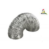 Quality Highly durable flexible design aluminum foil material dryer vent hose ducting for sale