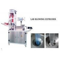 China Lab Application Hdpe Blown Film Machine , Blown Film Extrusion Line Low Noise on sale
