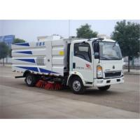 Wholesale Euro II RHD 2 Axles Road Sweeper Truck Water Saving Wet Type Street Cleaning Machine from china suppliers