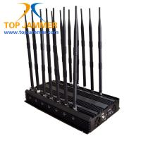 Wholesale 14 Antennas 35w Mobile Signal Jammer Blocker GSM DCS 3G 4G Wimax Wifi GPS Camera UHF VHF from china suppliers