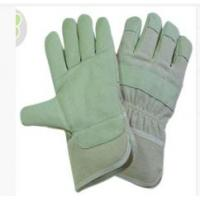 Wholesale OEM Safety Grain Pig Skin Leather Gloves with White Cotton Back from china suppliers